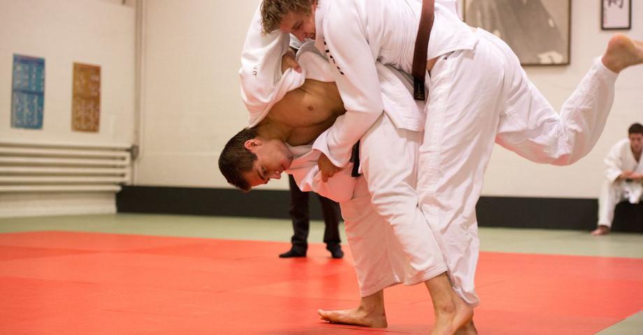 Ich mache Judo!